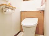 トイレリフォーム孫も使いやすい、手洗い付きトイレ