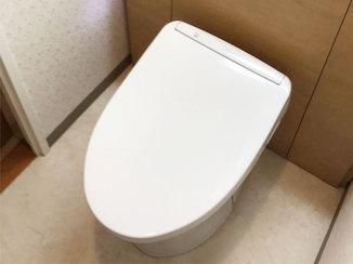 トイレリフォーム 細かく採寸し空間を広くしたトイレ
