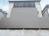 エクステリアリフォーム階下からの視線を遮りながら、風を室内に採り入れられるバルコニー
