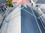 外壁・屋根リフォーム台風で剥がれた屋根を補修し、外壁をシリコン塗装した雨風に強い家