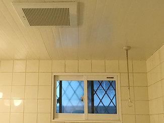 バスルームリフォーム カビの発生を抑え、入浴時のヒートショックを防ぐ内窓