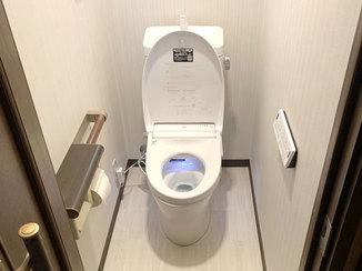 トイレリフォーム 内窓で寒さを軽減しヒートショック対策をしたトイレ