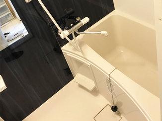 バスルームリフォーム 見違えるようにキレイになり、使い勝手もよくなった浴室