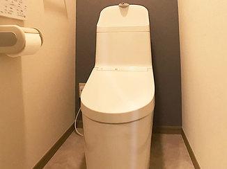 トイレリフォーム 迅速に修繕しつつ快適さにも最大限配慮したトイレ