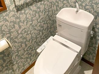 トイレリフォーム キャンペーン価格でお得にリフォームしたオシャレなトイレ