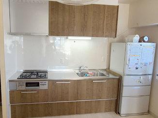 キッチンリフォーム 本体のみをキレイに取り変えたキッチン