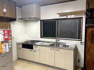 キッチンリフォーム お掃除がしやすく、安全に使えるキッチン